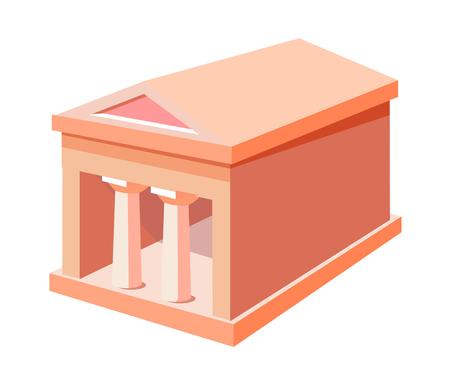 icon building Ilustração
