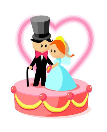 wedding cake: icon wedding cake