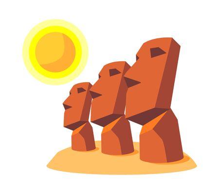 icon moai Illustration