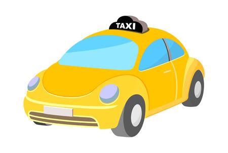 アイコン タクシー  イラスト・ベクター素材