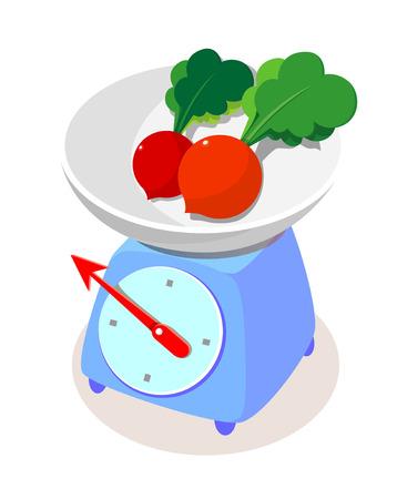 icon scale Illustration