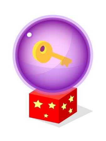 conjuring: icon key