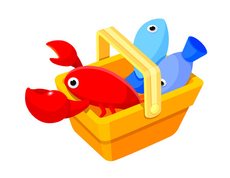 crawfish: Icon seafood