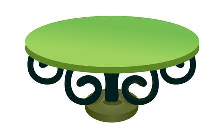 children's story: icon table Illustration