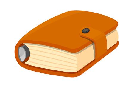 diary: Diary icon. Illustration