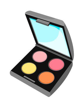 mirro: Icon of makeup pallete with mirro
