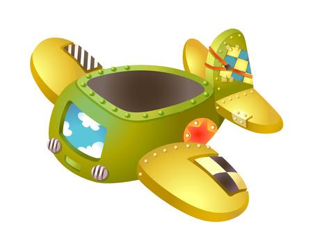 children's story: icon plane