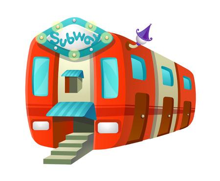 children's story: icon subway