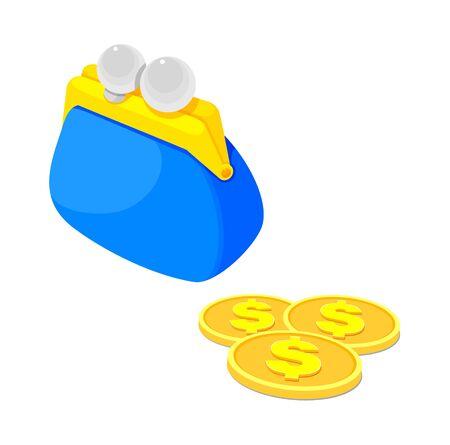 billfold: icon purse
