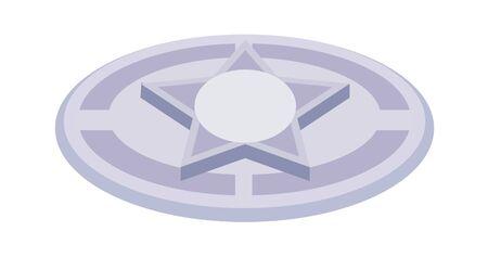 children's story: Manhole icon.