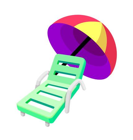 icon beach chair