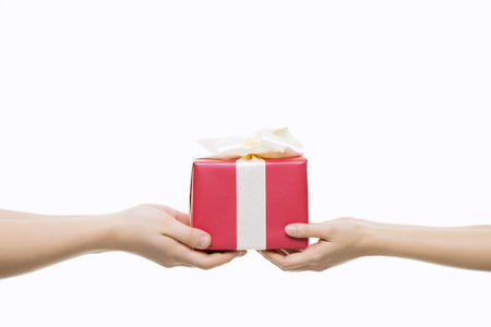 Gift Giving Close-Up