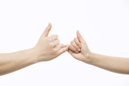 Pinky Promise Close-Up