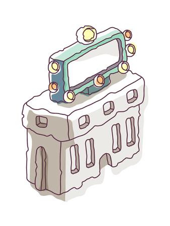 icon building Illustration