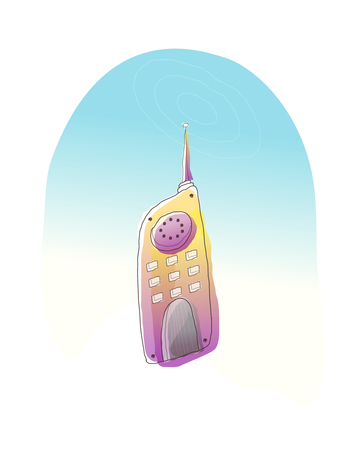 Icon cell phone