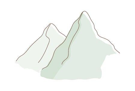 icon mountain
