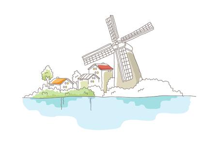 icon windmill
