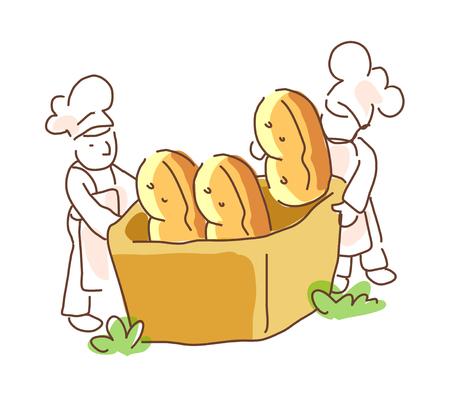 icon bread
