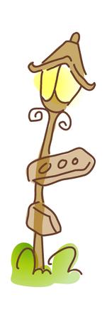 icon lamp Illustration