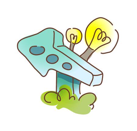 icon arrow Illustration