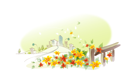 icon tuin Stock Illustratie