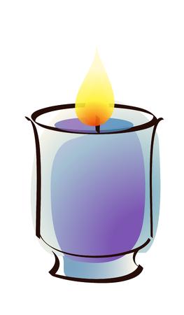 icon candle Illustration