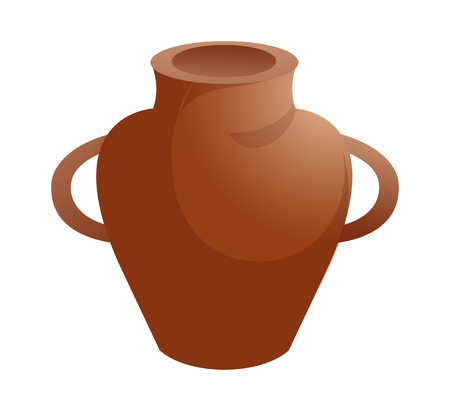 vector icon ceramic water jug