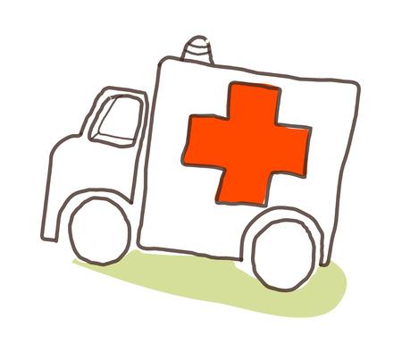 icon Ambulance Illustration