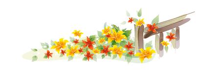 Pictogram bloem Stockfoto - 74019351