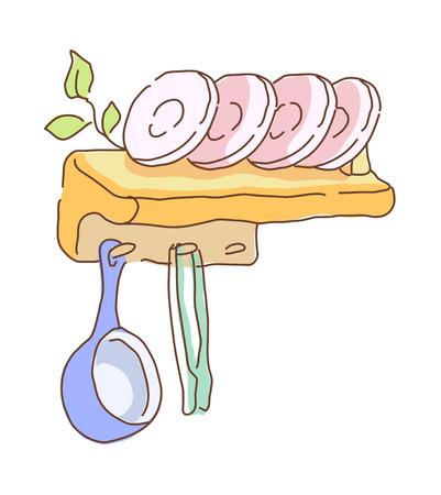 icon shelf Illustration