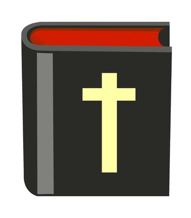 聖書のアイコン  イラスト・ベクター素材