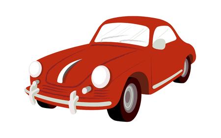 Kühle Illustration eines Autos. Standard-Bild - 74067778