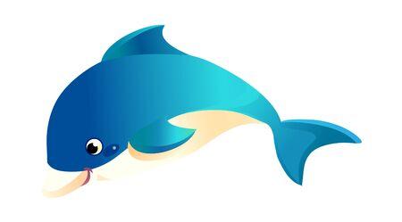 vector icon illustration fish
