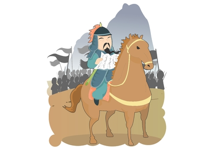 confucius: Chinese four character idiom illustrations