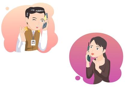 Customer service complaint -vector illustration Illustration