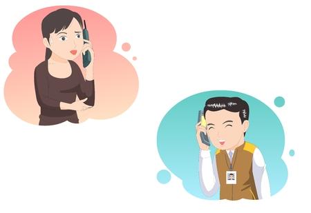 Customer service-vector illustration