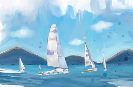 Vacation  illustration