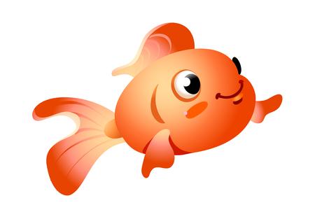 cichlid: vector illustration: animal Illustration