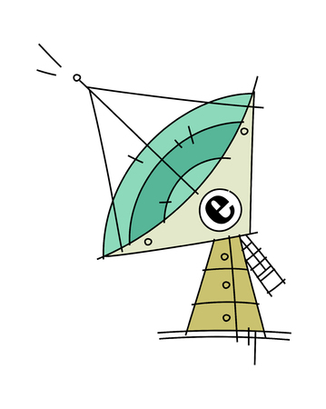 Vector illustration: things