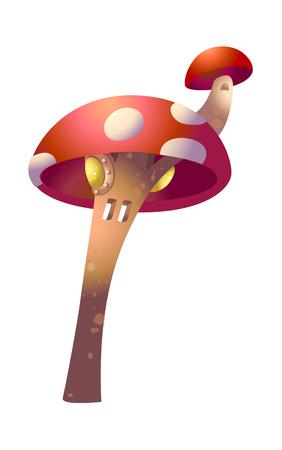 children's story: vector illustration: nature