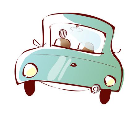 vector illustration: car