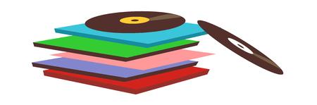 vector illustration: music