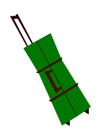 vector illustration: bag