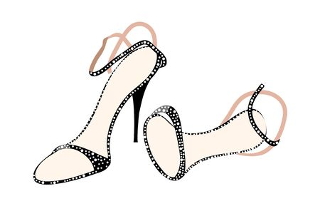 vector illustration: shoes