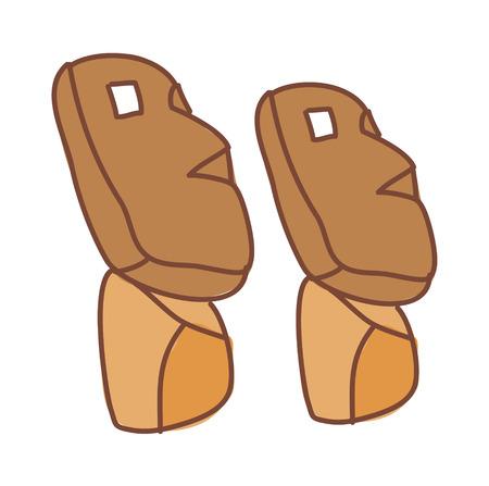 Ilustración vectorial: rocas