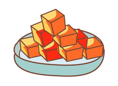 vector illustration: food
