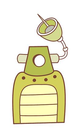 children's story: vector illustration: technology Illustration