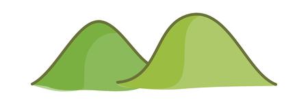 hillock: Vector illustration: tree Illustration