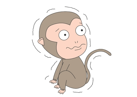 Animal character vector illustration-