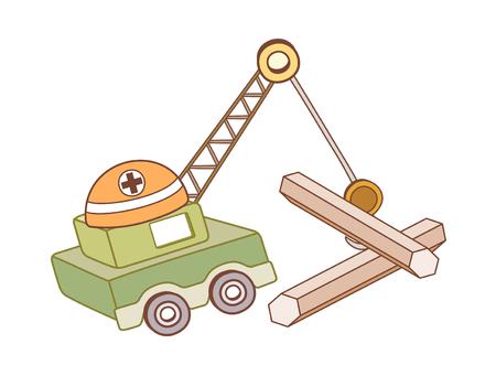 Vector illustration: construction
